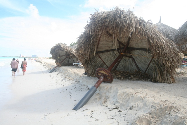 Beach Conditions - October 24, 2011