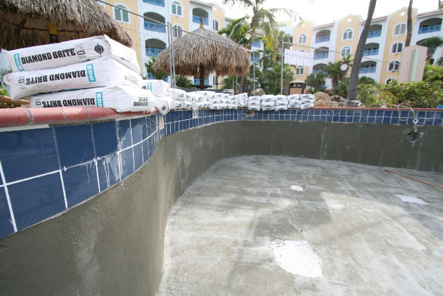 Pool repairs - October 13, 2011