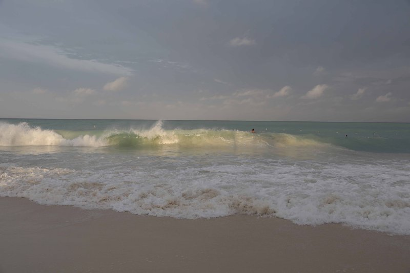 Beachfront damage: Rough seas take down eight chikees