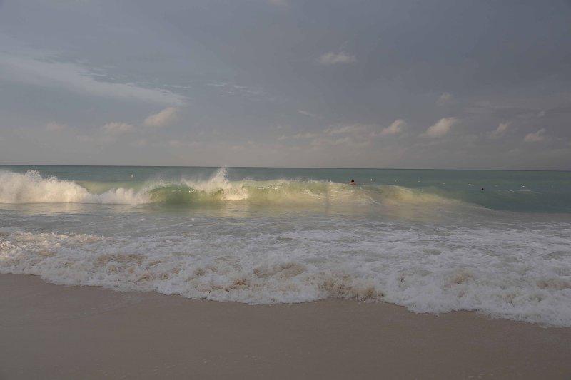 Beachfront damage: Rough seas take down eight chikees