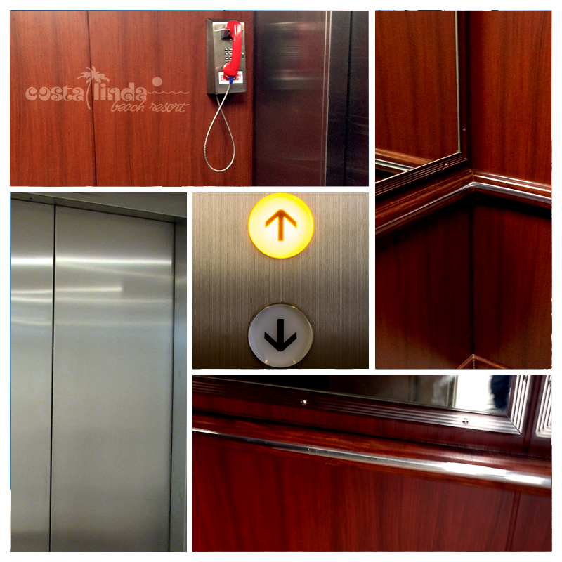 New elevators at Costa Linda Beach Resort