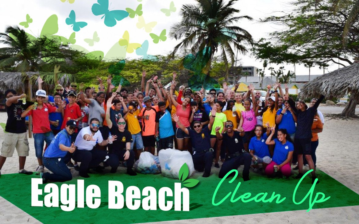 Eagle Beach Clean Up