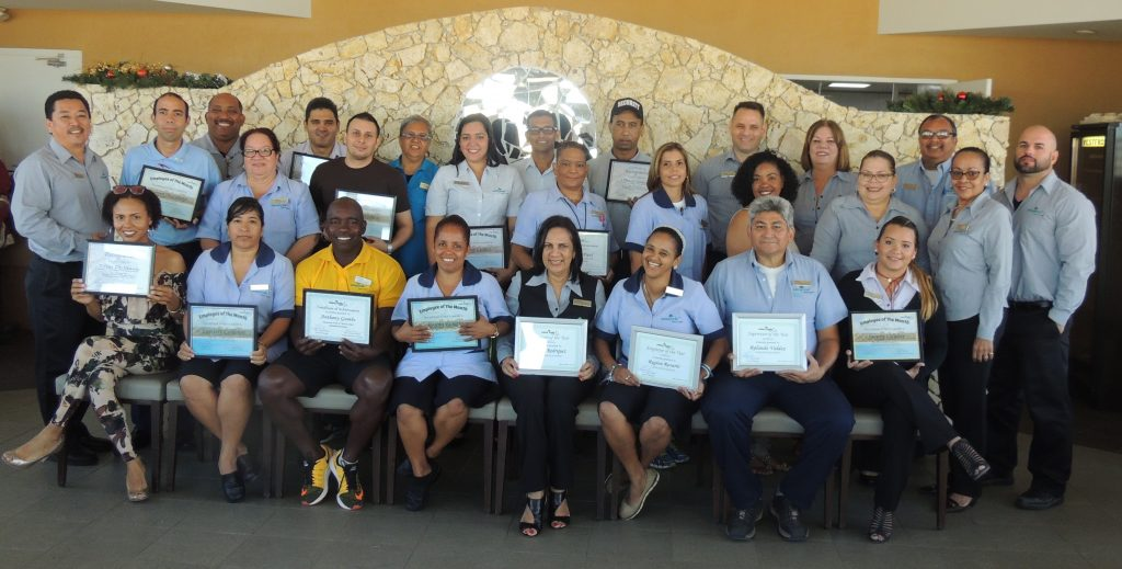 In Honor of its Top Performers, Costa Linda Beach Resort hosts a Recognition Breakfast