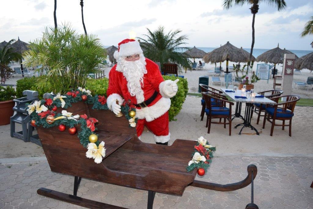 Santa Claus is coming to Costa Linda Beach Resort