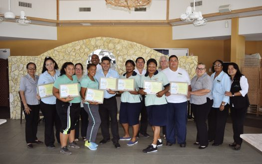 Costa Linda Beach Resort completed the Aruba Certification Program |